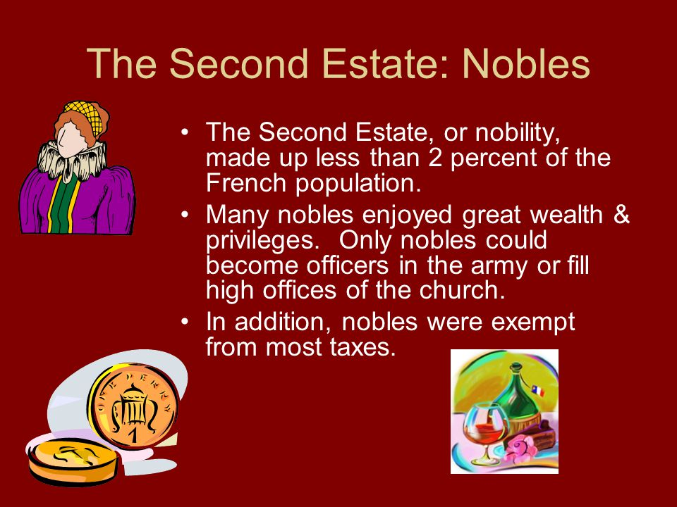 The Second Estate: Nobles