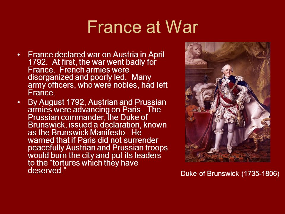 France at War