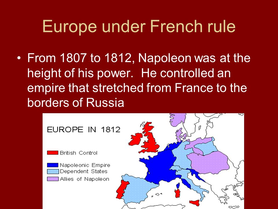 Europe under French rule