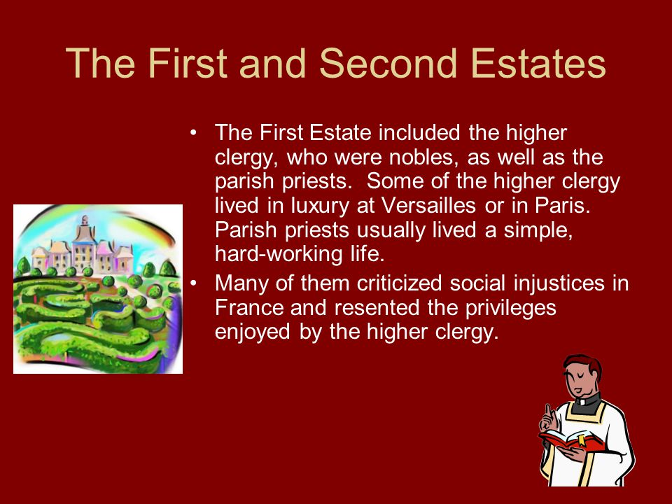 The First and Second Estates