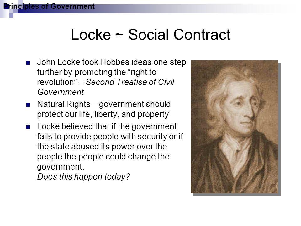 Locke ~ Social Contract