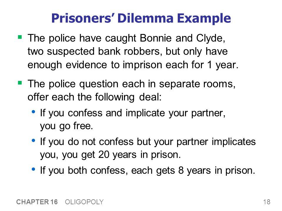 Prisoners' Dilemma Example