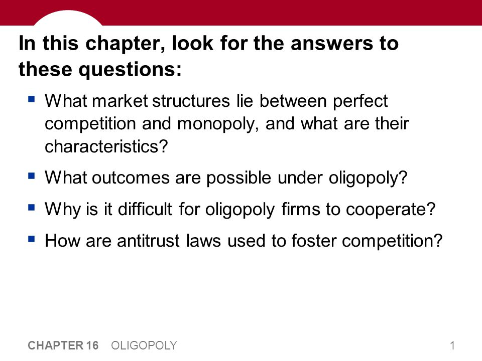 Introduction: Between Monopoly and Competition