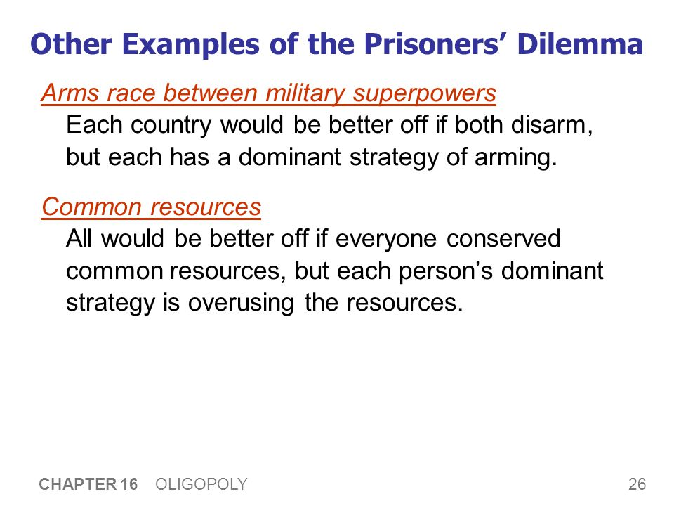 Prisoners' Dilemma and Society's Welfare