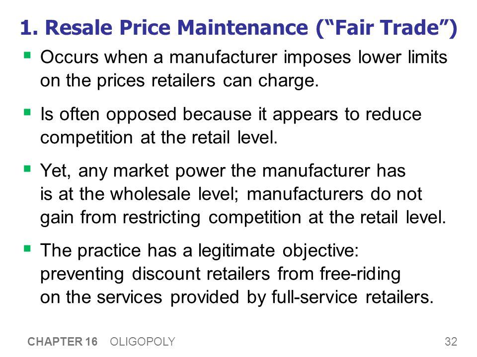 2. Predatory Pricing
