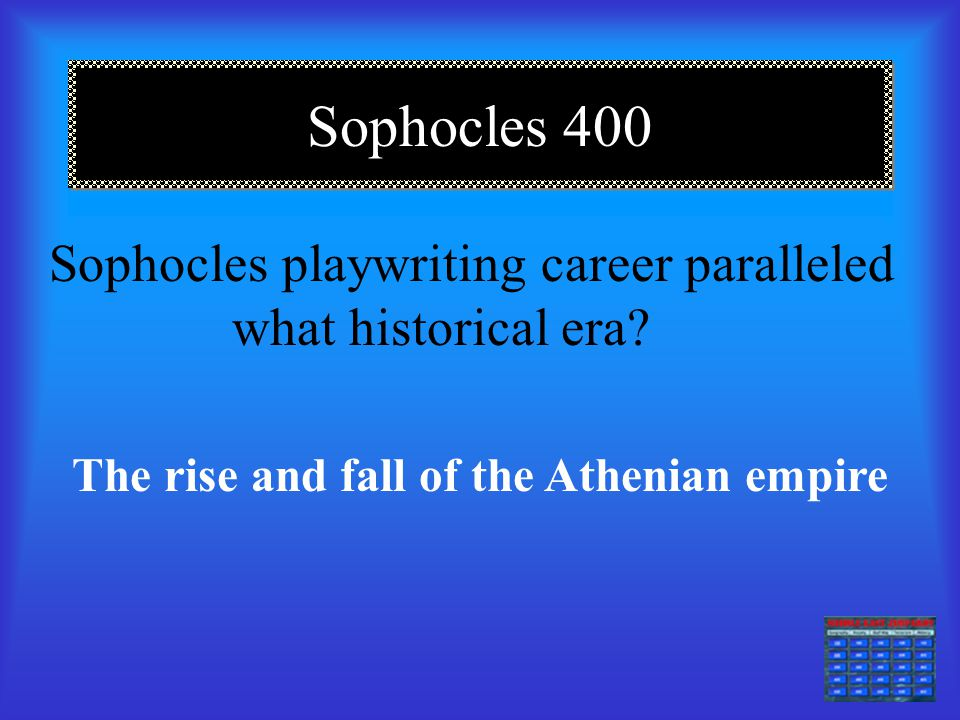 The rise and fall of the Athenian empire