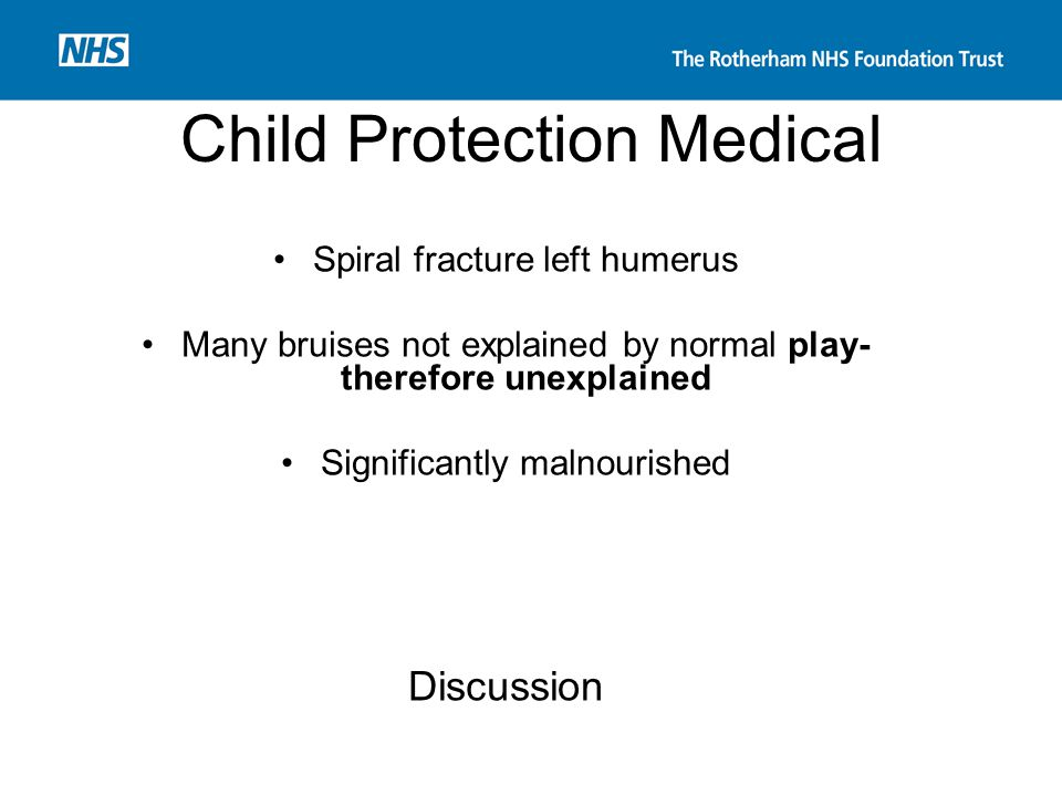 Child Protection Medical