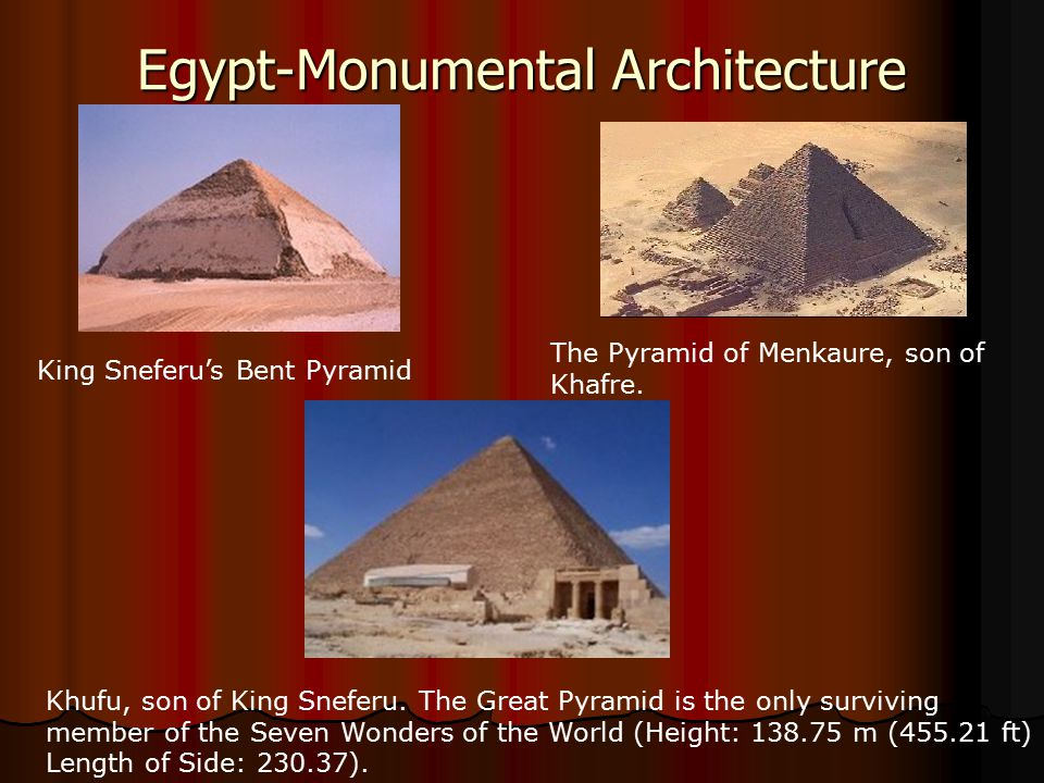 Egypt-Monumental Architecture