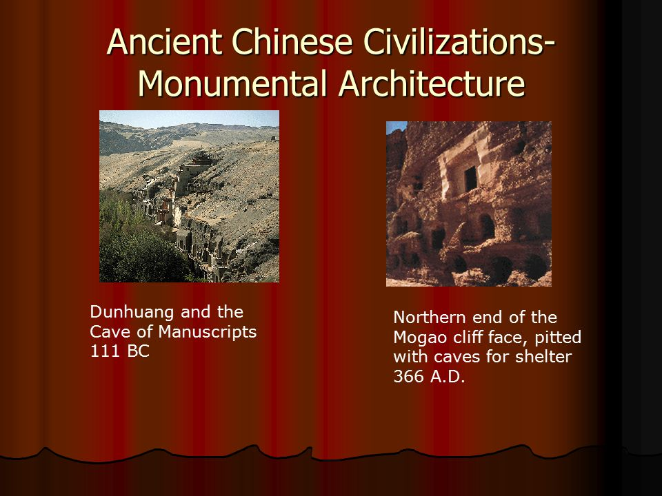 Ancient Chinese Civilizations-Monumental Architecture