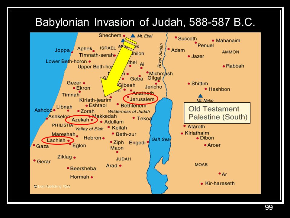 Babylonian Invasion of Judah, 588-587 B.C.