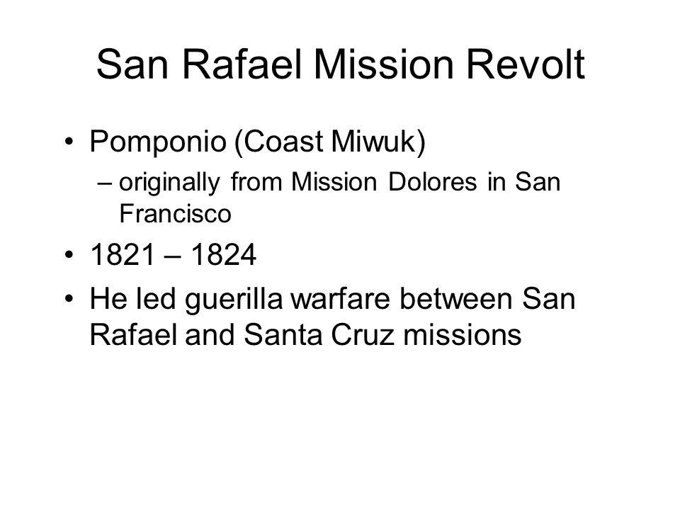 San Rafael Mission Revolt