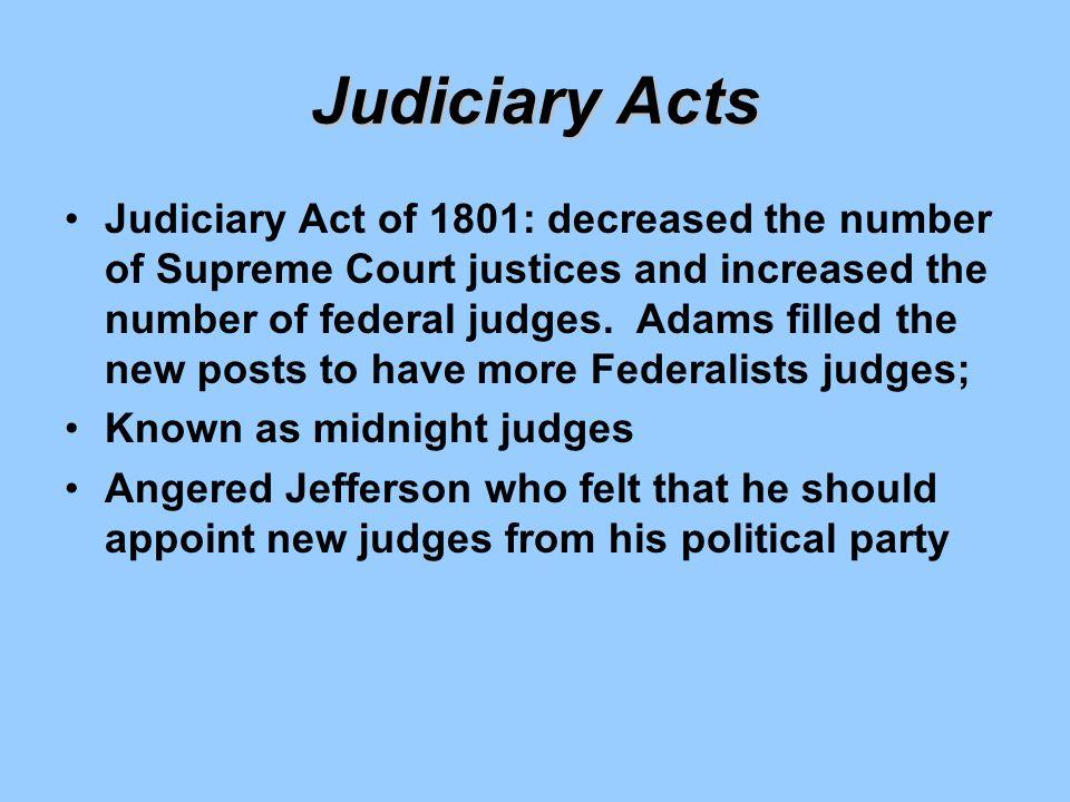 Judiciary Acts