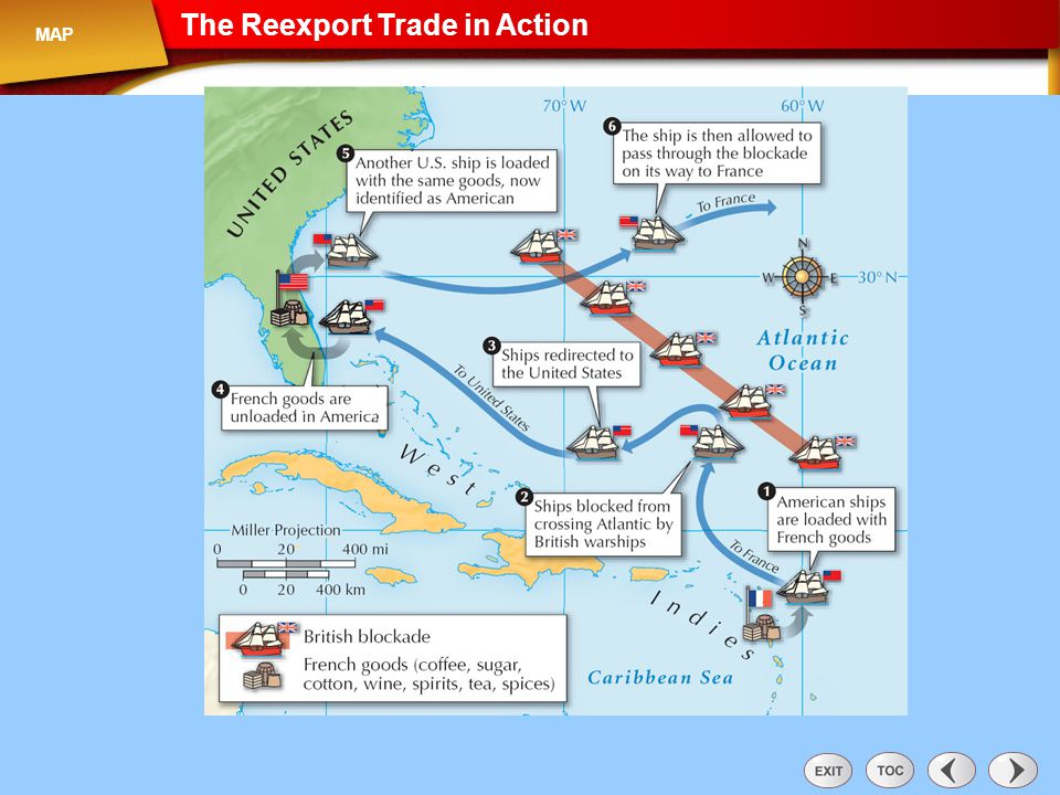 Map: The Reexport Trade in Action