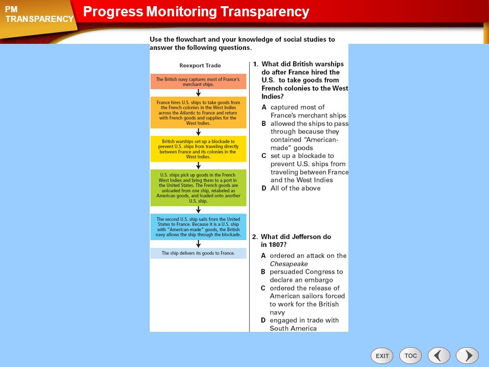 Progress Monitoring Transparency: Section 3