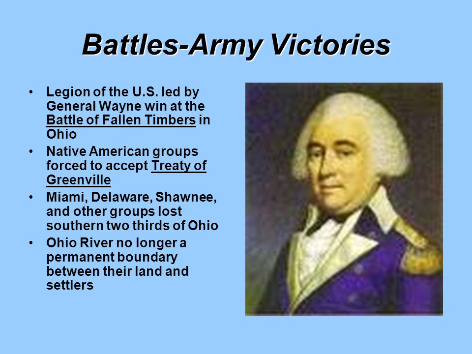 Battles-Army Victories