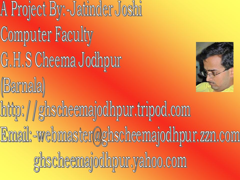 A Project By:-Jatinder Joshi