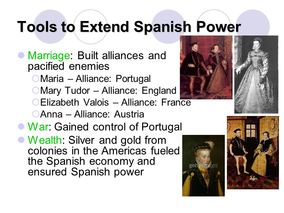 Tools to Extend Spanish Power