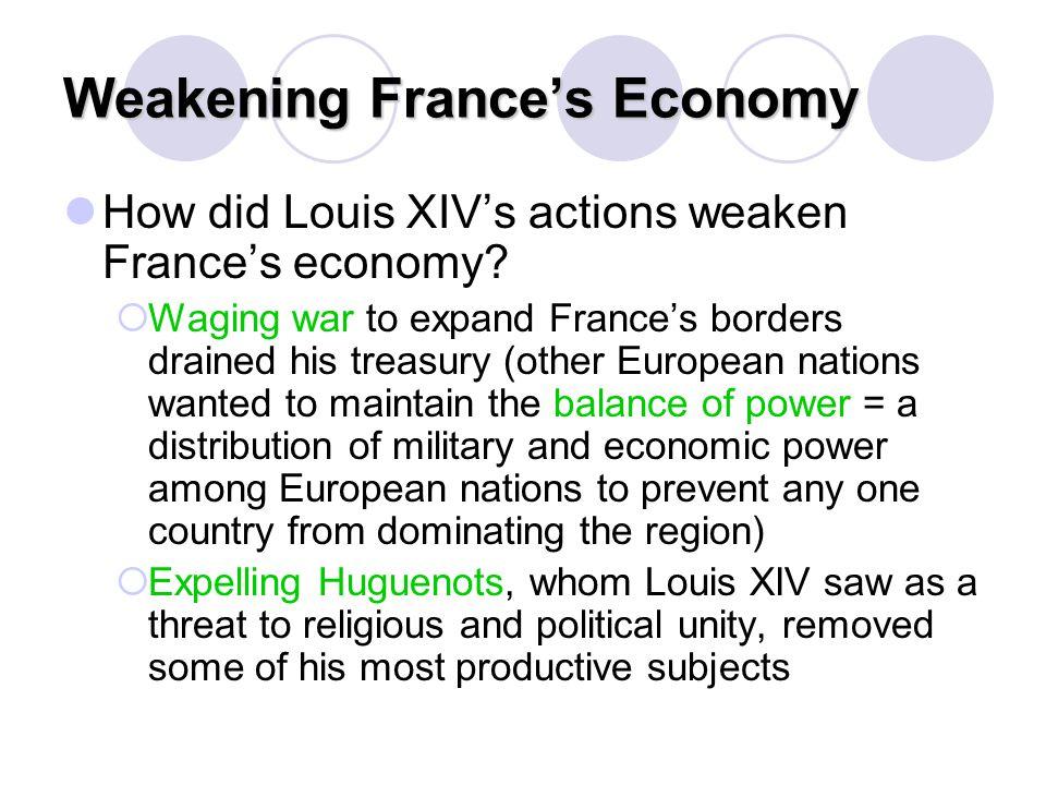 Weakening France's Economy