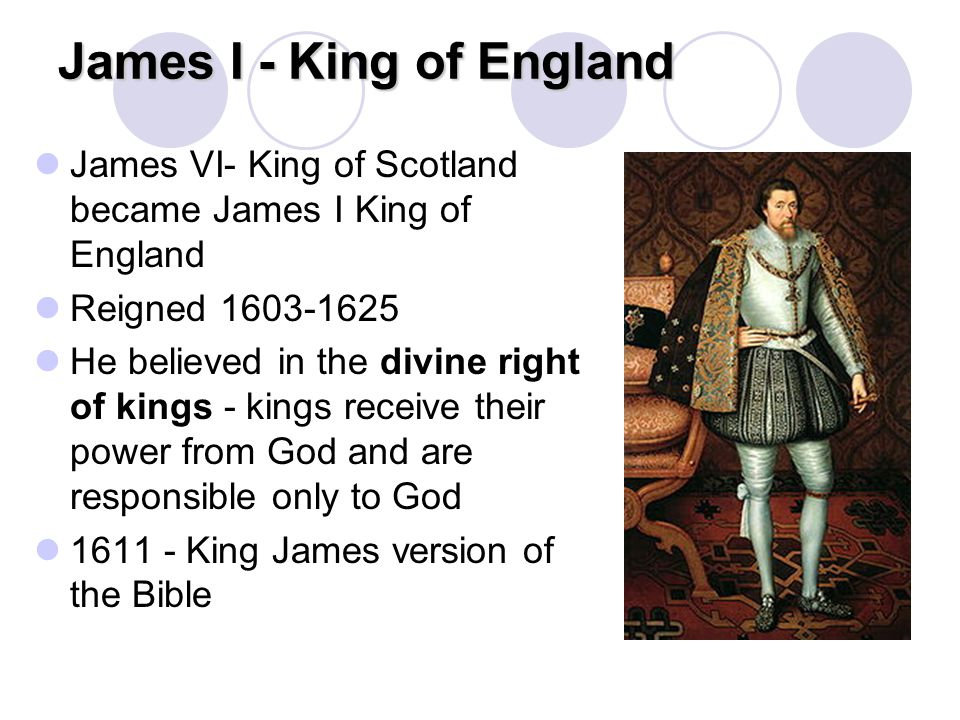 James I - King of England