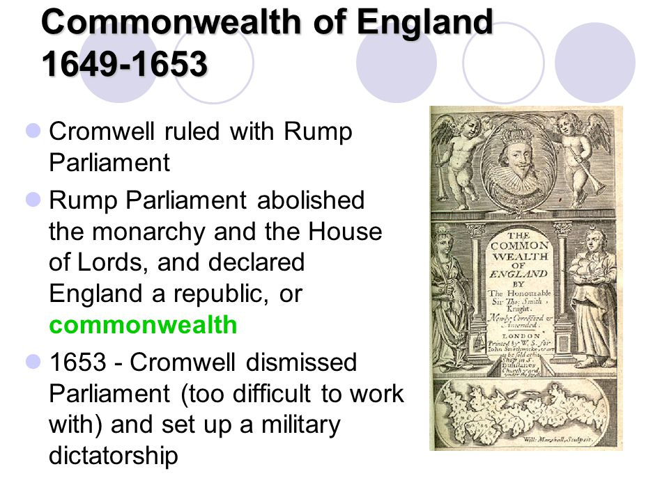 Commonwealth of England 1649-1653