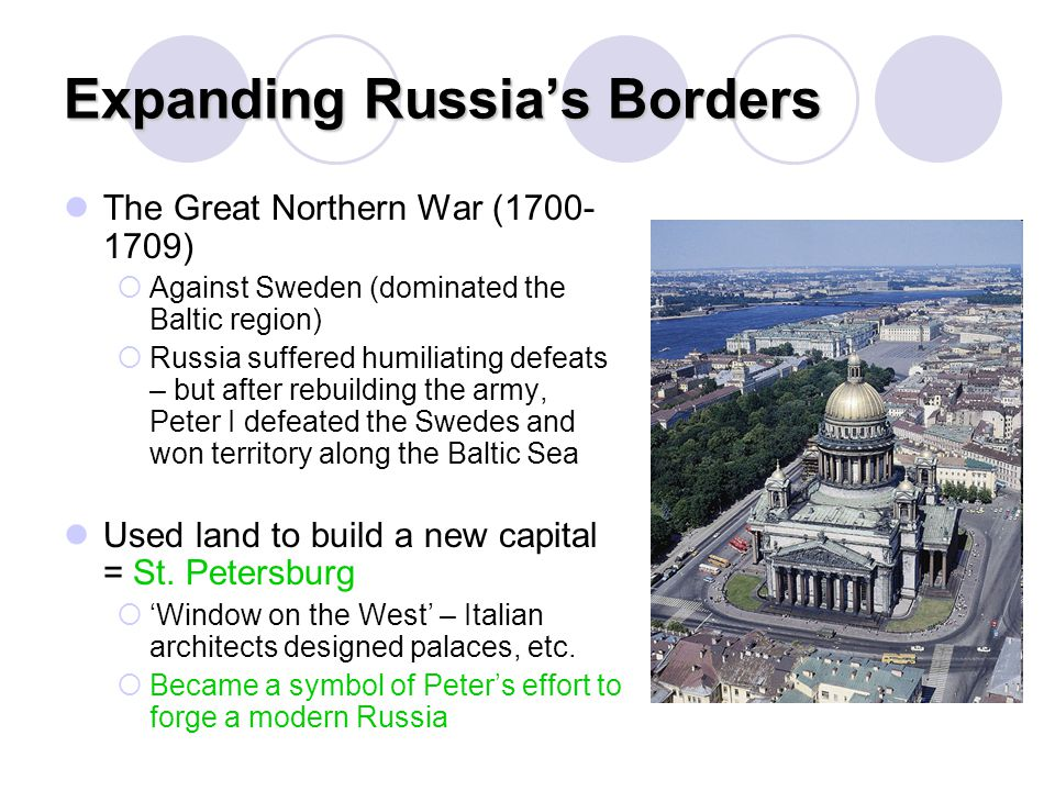 Expanding Russia's Borders
