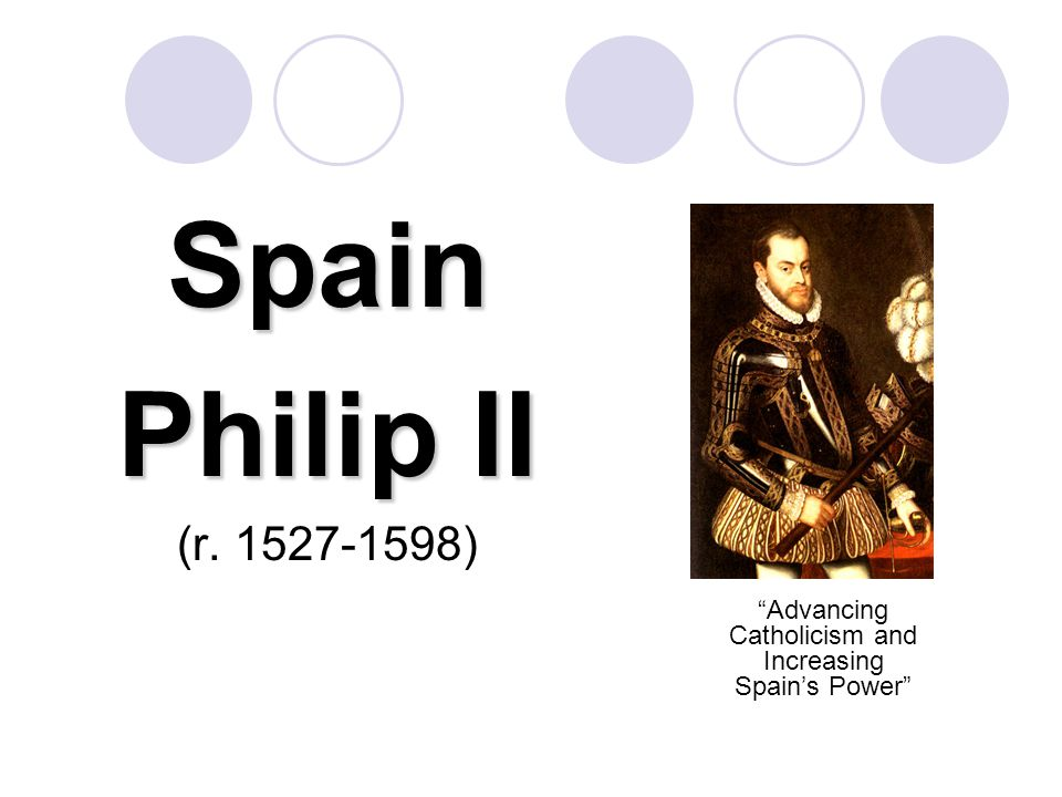Advancing Catholicism and Increasing Spain's Power