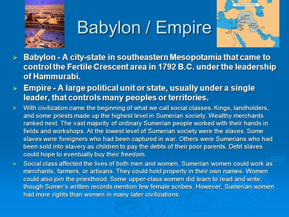 Babylon / Empire