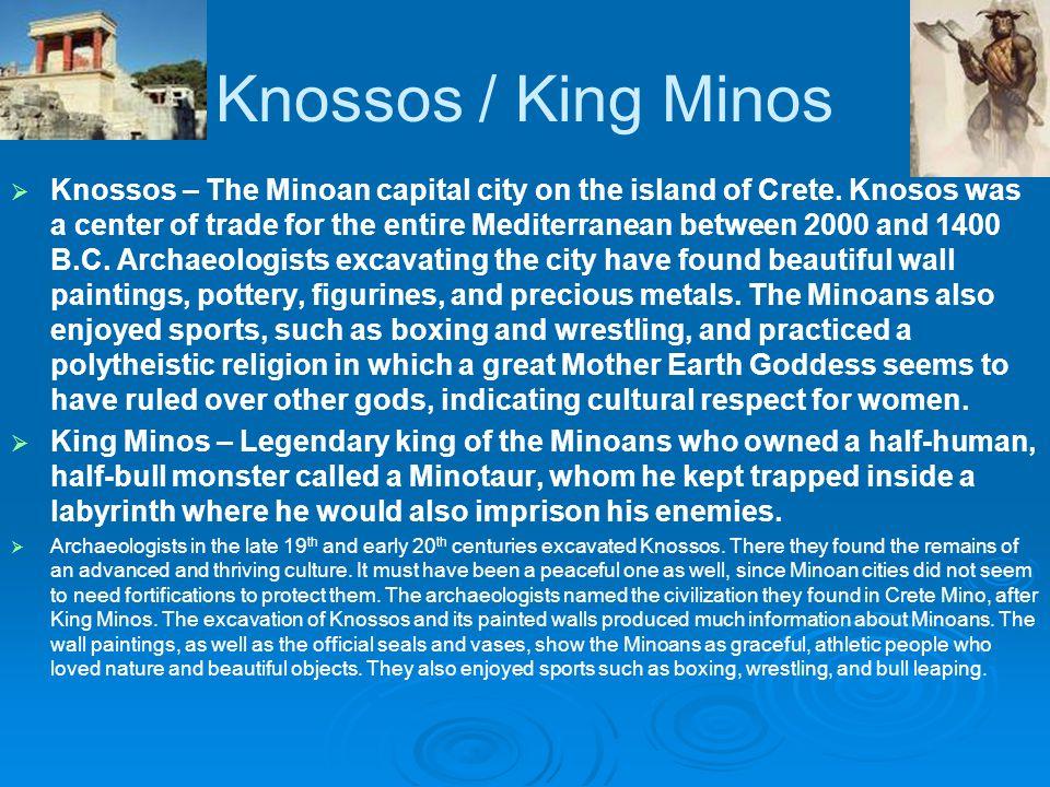 Knossos / King Minos