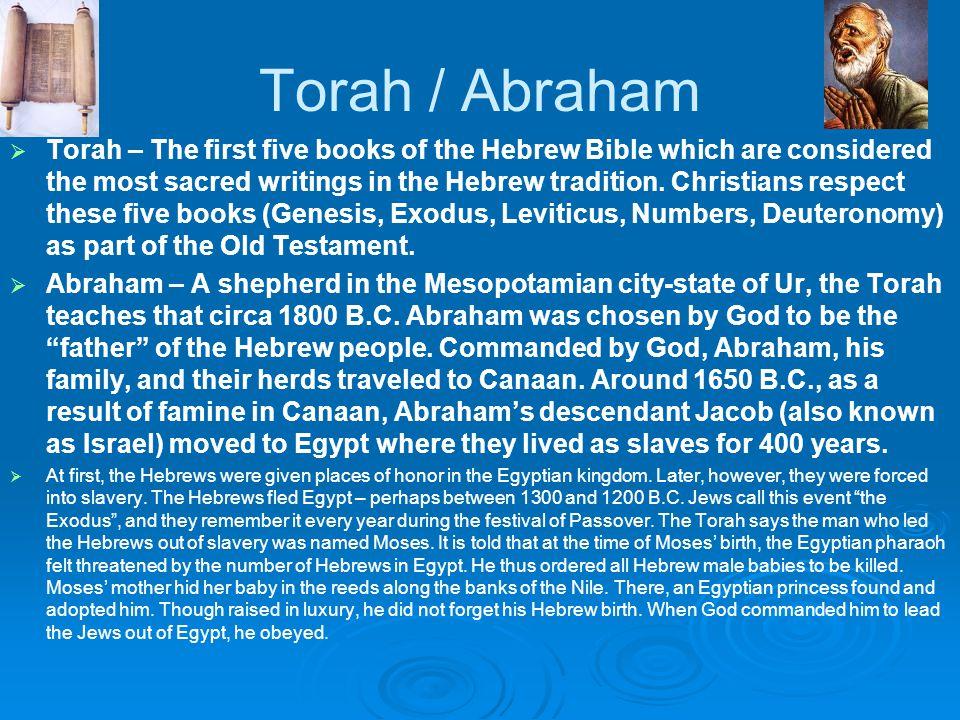 Torah / Abraham
