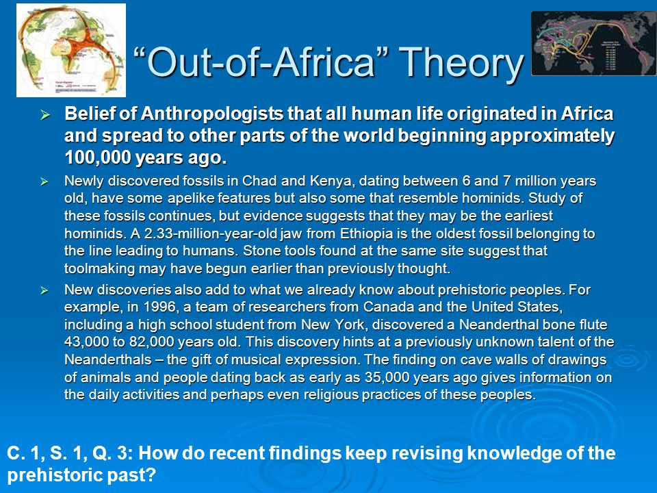 Out-of-Africa Theory