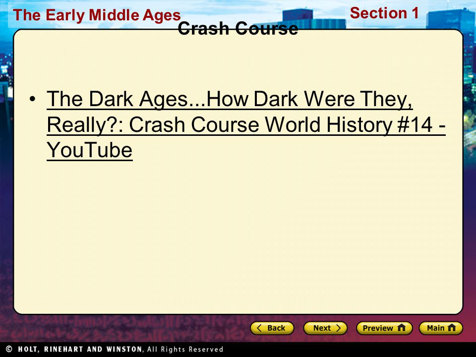 Crash Course The Dark Ages...How Dark Were They, Really : Crash Course World History #14 - YouTube