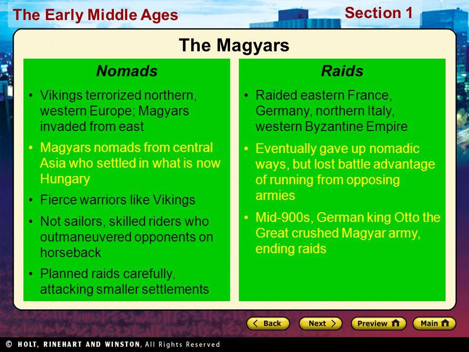The Magyars Nomads Raids