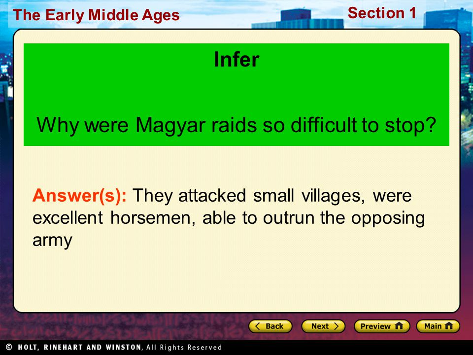 Why were Magyar raids so difficult to stop