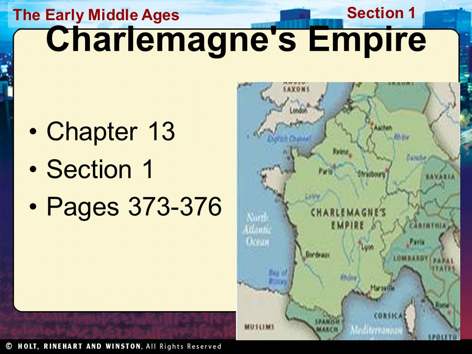 Charlemagne s Empire Chapter 13 Section 1 Pages 373-376