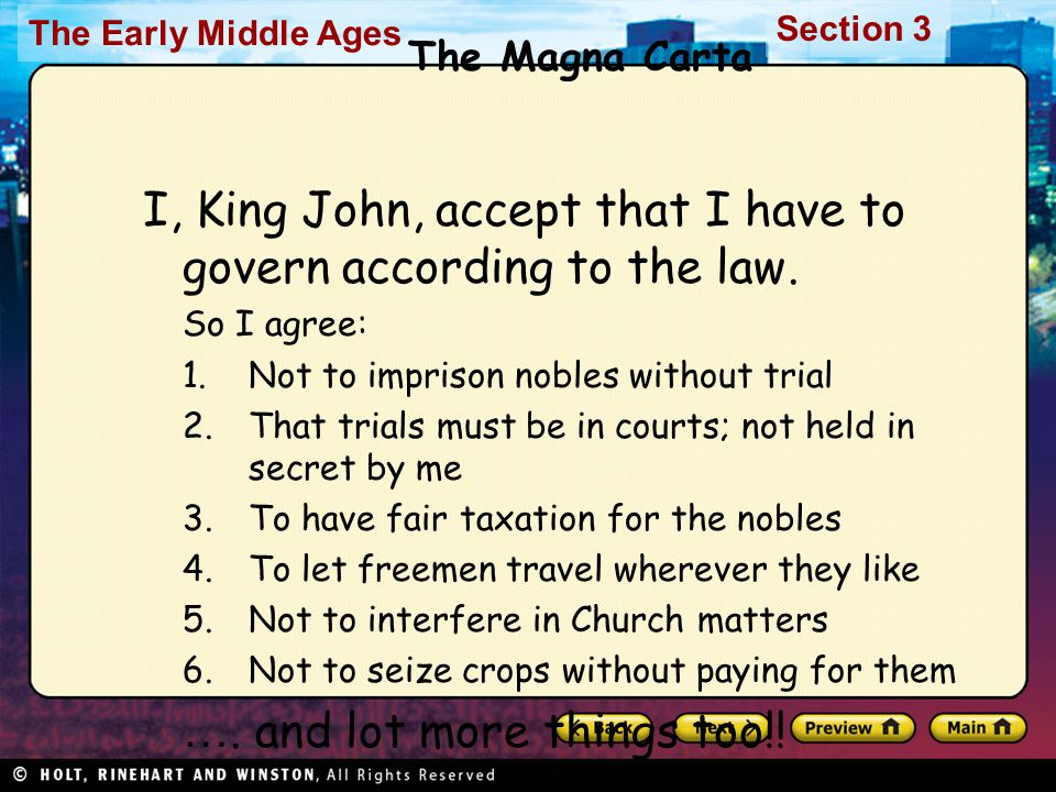 I, King John, accept that I have to govern according to the law.