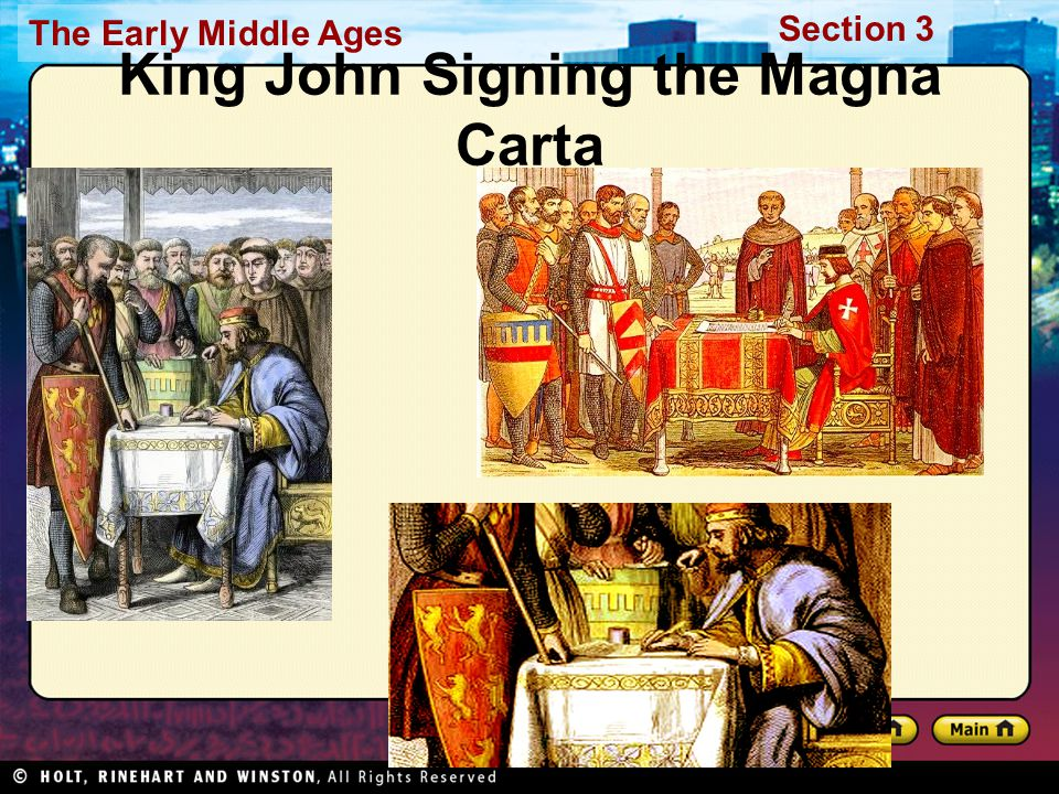 King John Signing the Magna Carta