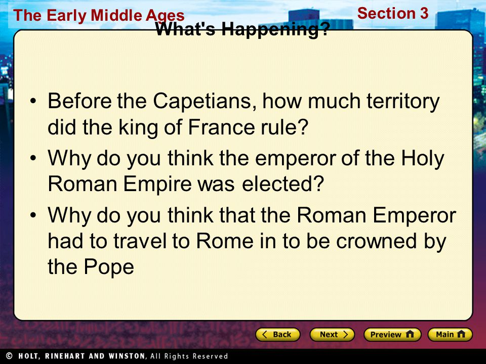 Before the Capetians, how much territory did the king of France rule