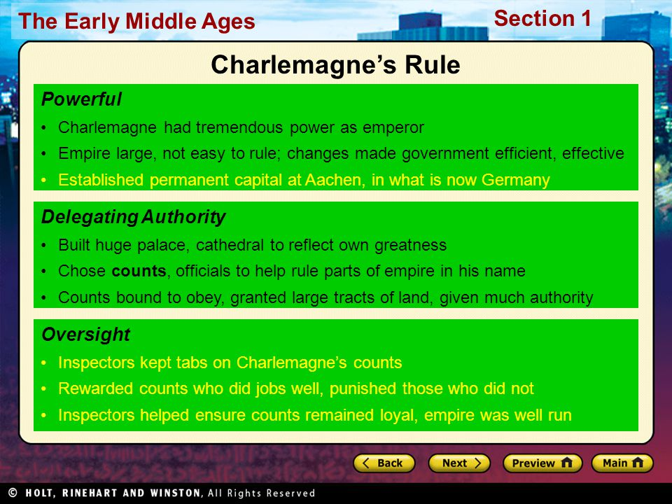 Charlemagne's Rule Powerful Delegating Authority Oversight