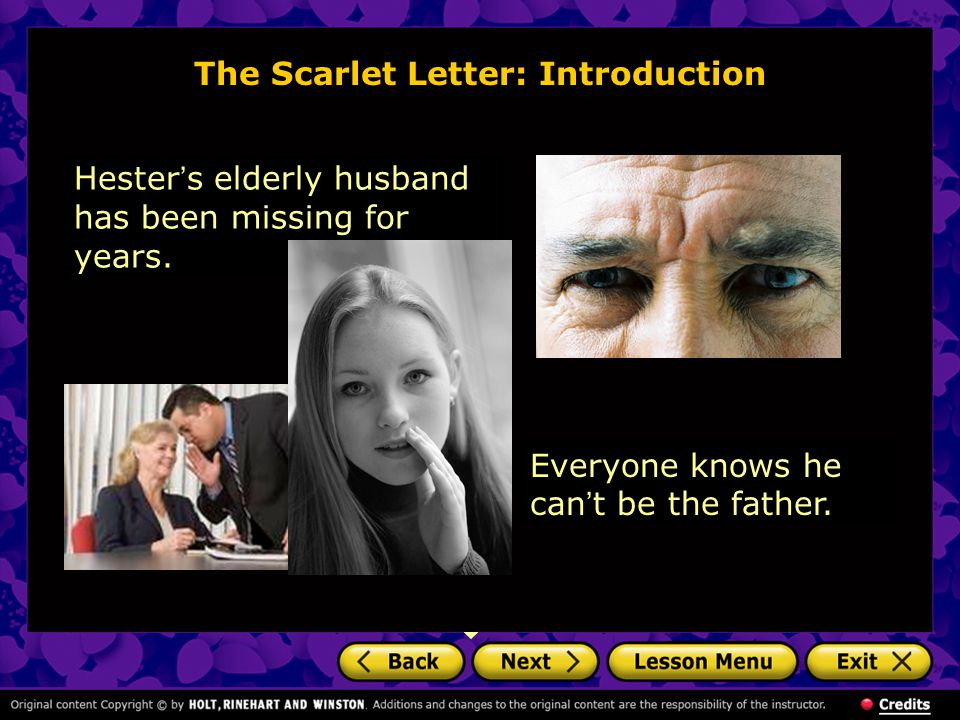 The Scarlet Letter: Introduction