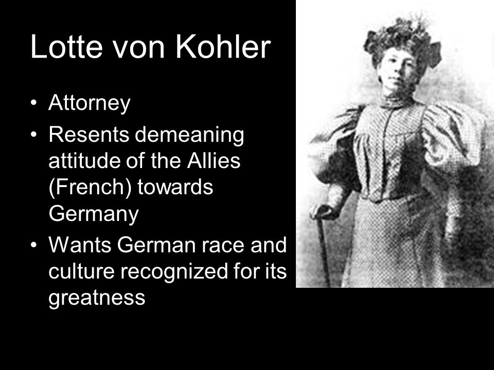 Lotte von Kohler Attorney