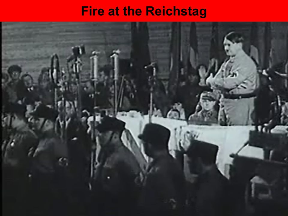 Fire at the Reichstag