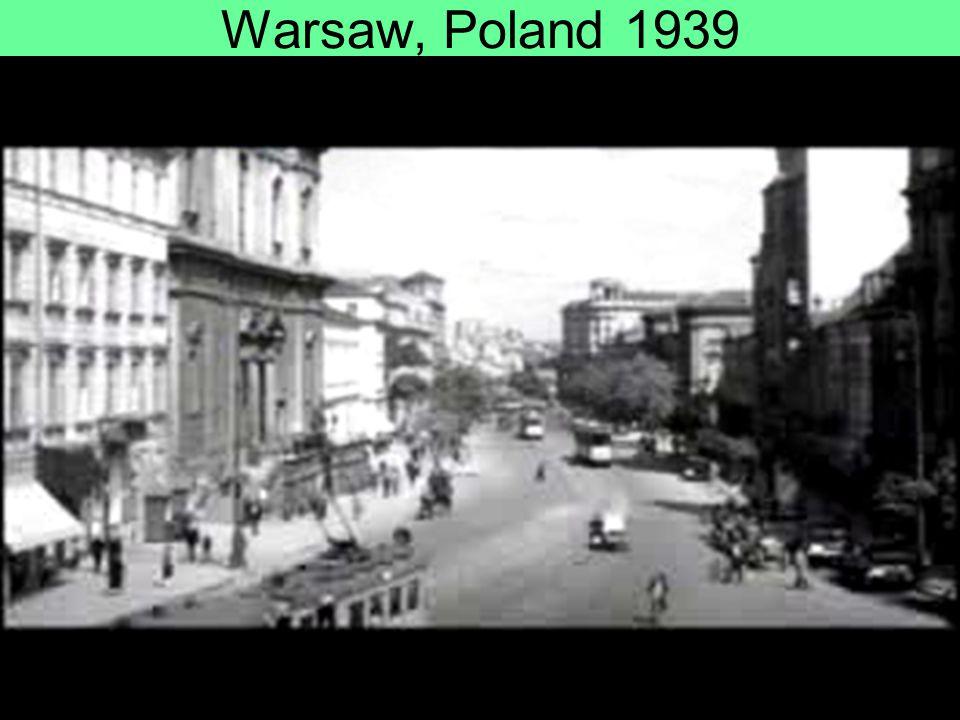Warsaw, Poland 1939
