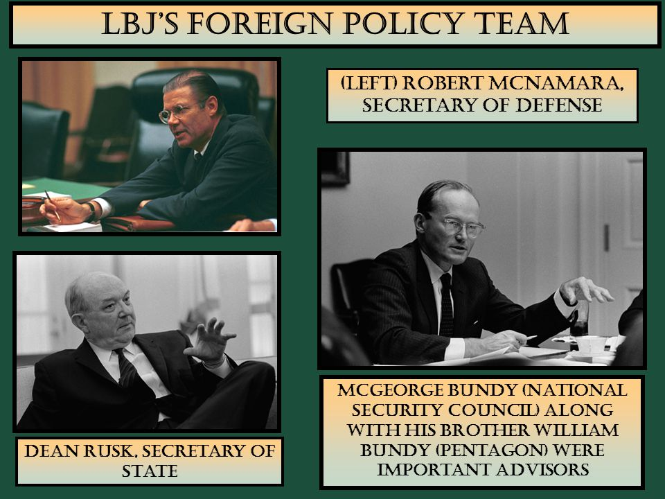 LBJ's Foreign Policy Team