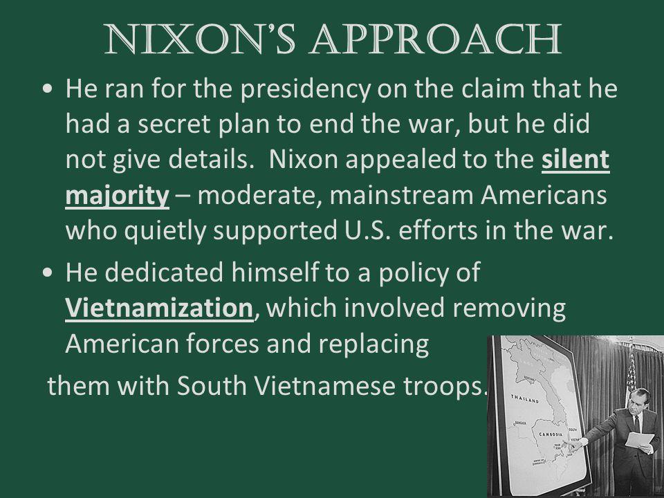 Nixon's approach
