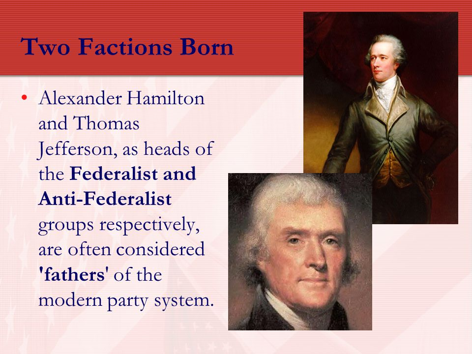 Two Factions Born