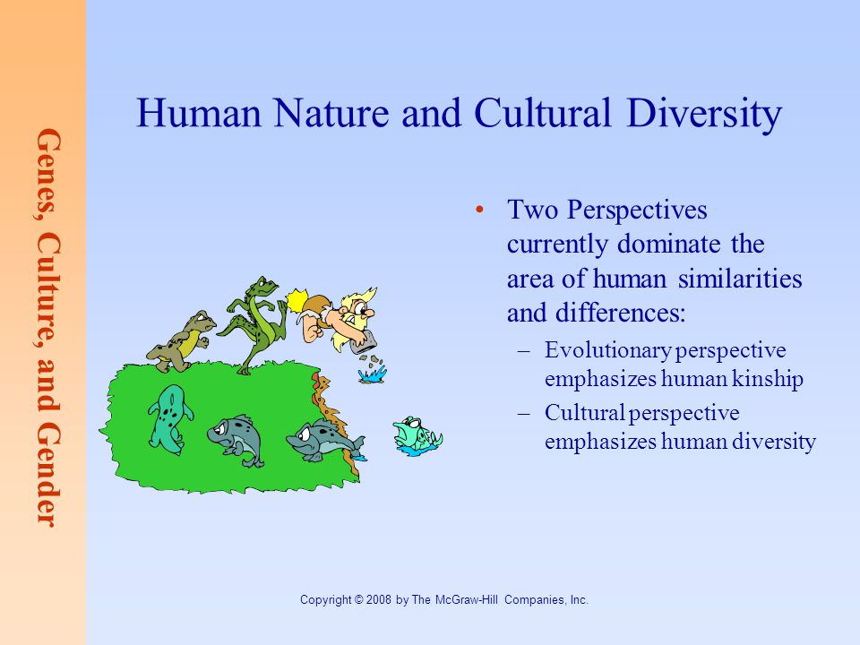 Human Nature and Cultural Diversity