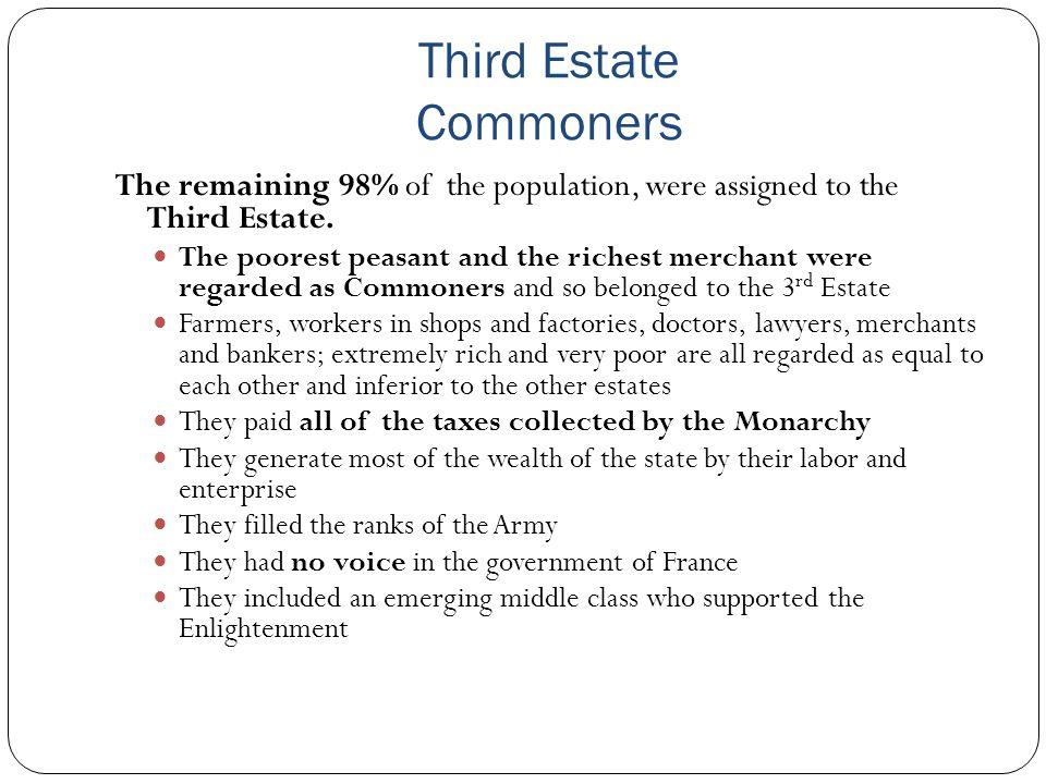 Third Estate Commoners