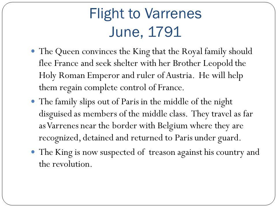Flight to Varrenes June, 1791