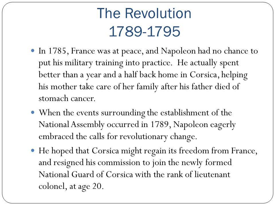 The Revolution 1789-1795
