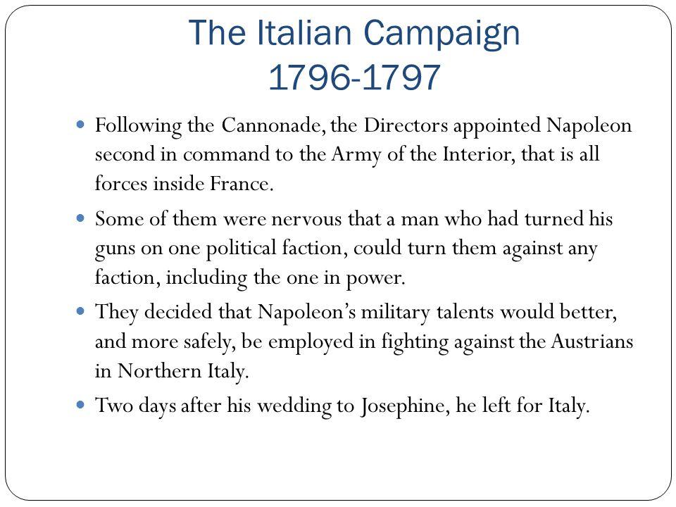 The Italian Campaign 1796-1797